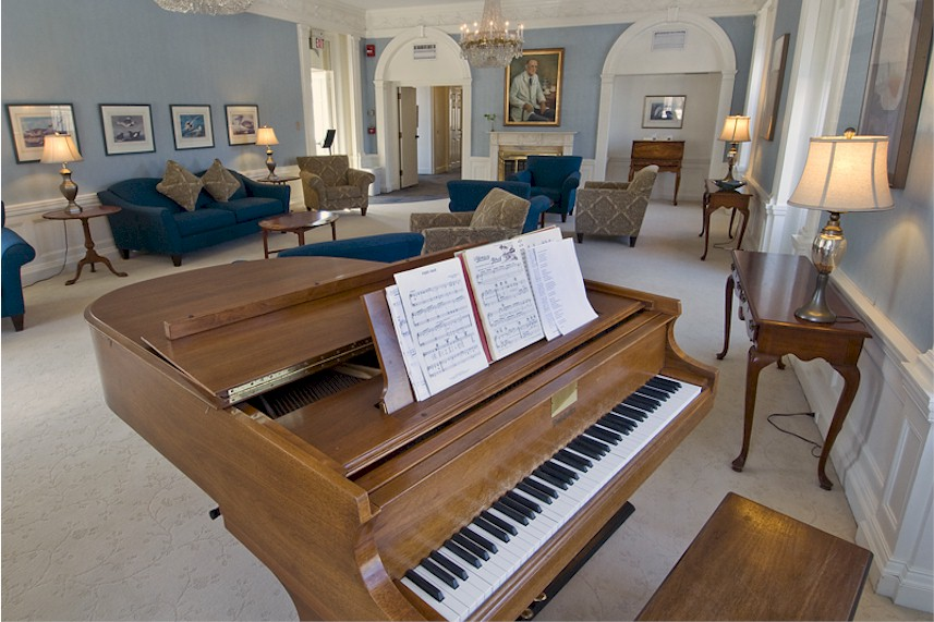 Marworth dayroom piano